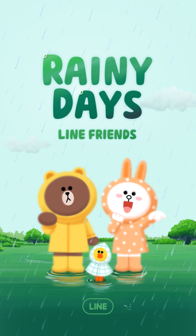 LINE Rainy Days