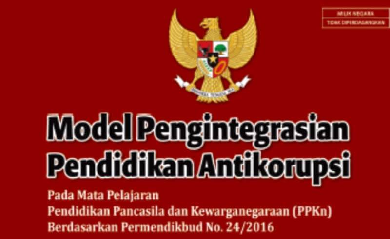 Buku Model Pembelajaran Antikorupsi Jenjang SD