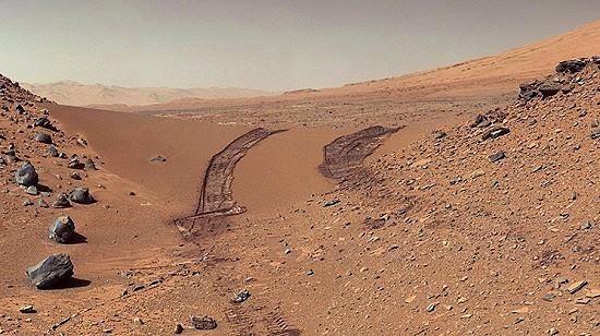 Marte. Rojo o Anaranjado