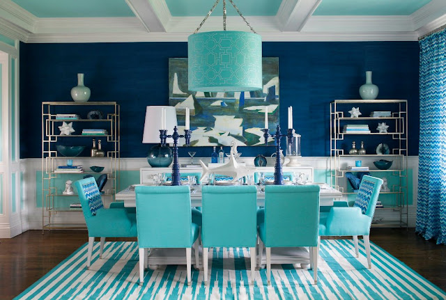 hamptons designer showhouse dining room