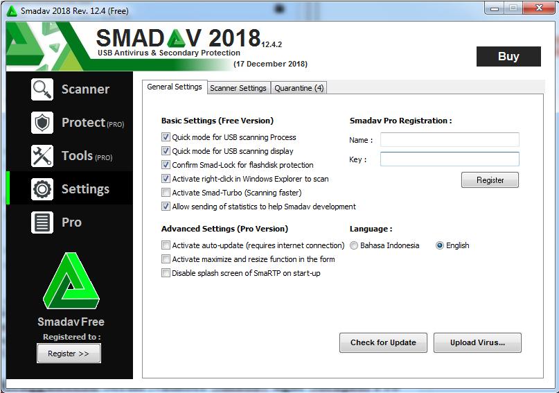 Cara Membuat Smadav Free Menjadi Smadav Pro Gratis Lp3m Samarinda
