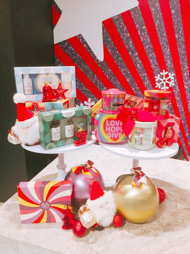 TheBodyShopHK, PlayForPeace, GameOn, spring_pr, 聖誕節, InternationalAlert, HouseofHolland, lovecath, catherine, christmas, gift, christmasgift, xmas,