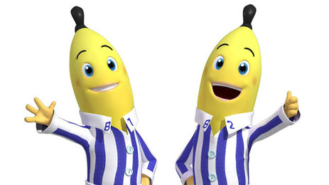 Bananas in Pyjamas B1 & B2