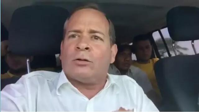 Secuestran y golpean al diputado Juan Pablo Guanipa durante un acto en el Zulia