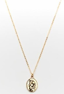 Aquarius Brass Pendant