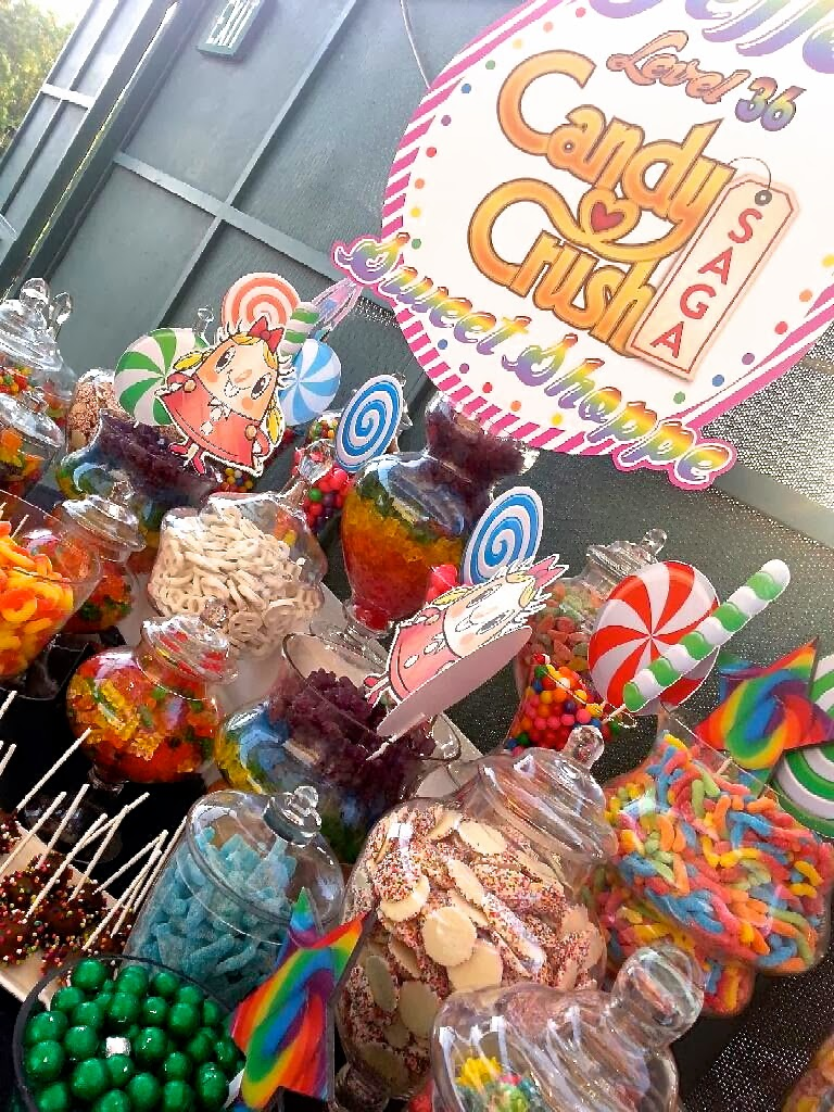 Candy Crush Saga Themed Birthday Bash A Super Sweet Candy