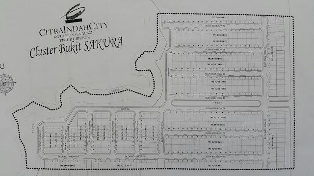 Siteplan Bukit Sakura