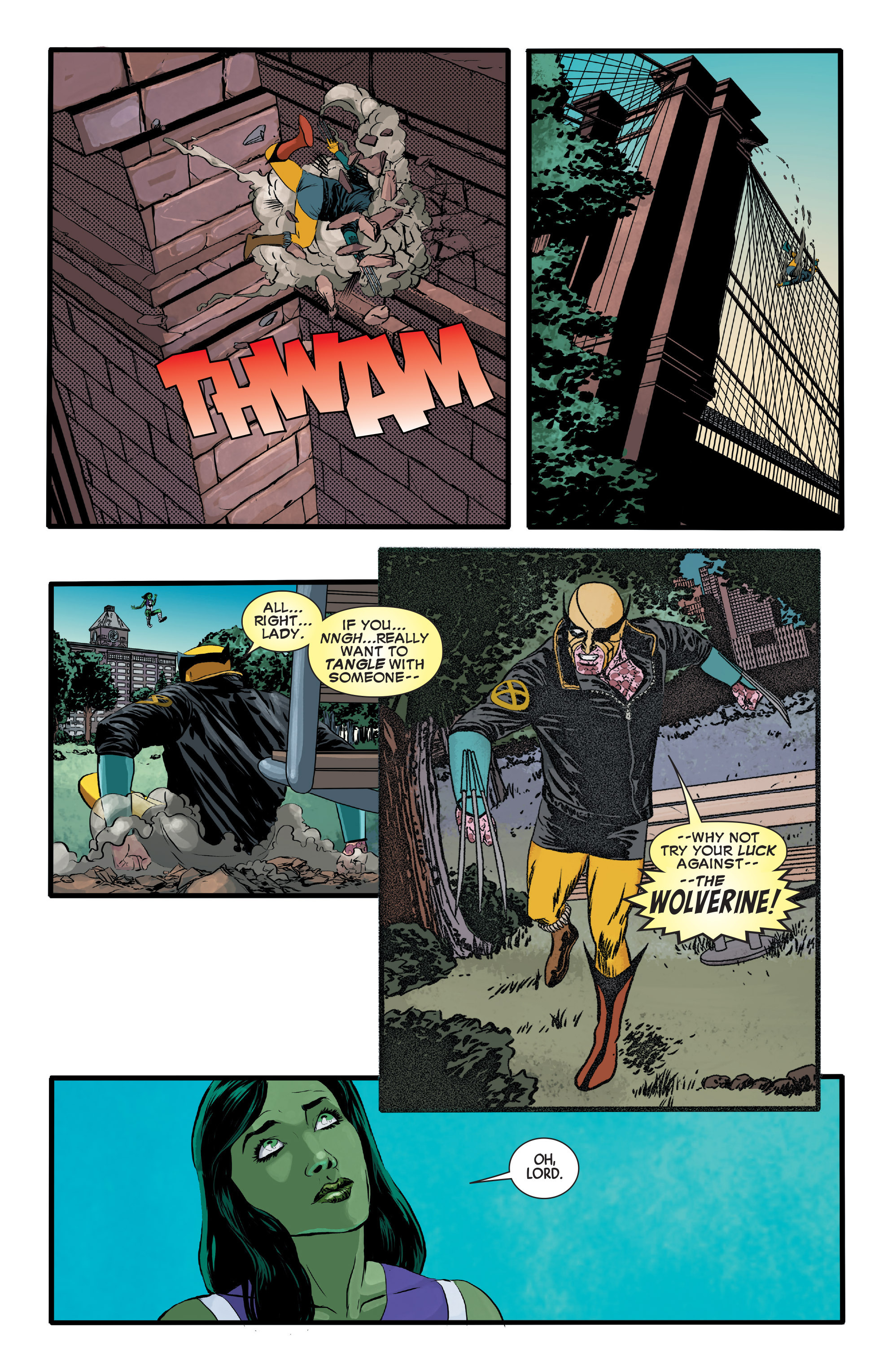 Read online Wolverines comic -  Issue #13 - 11