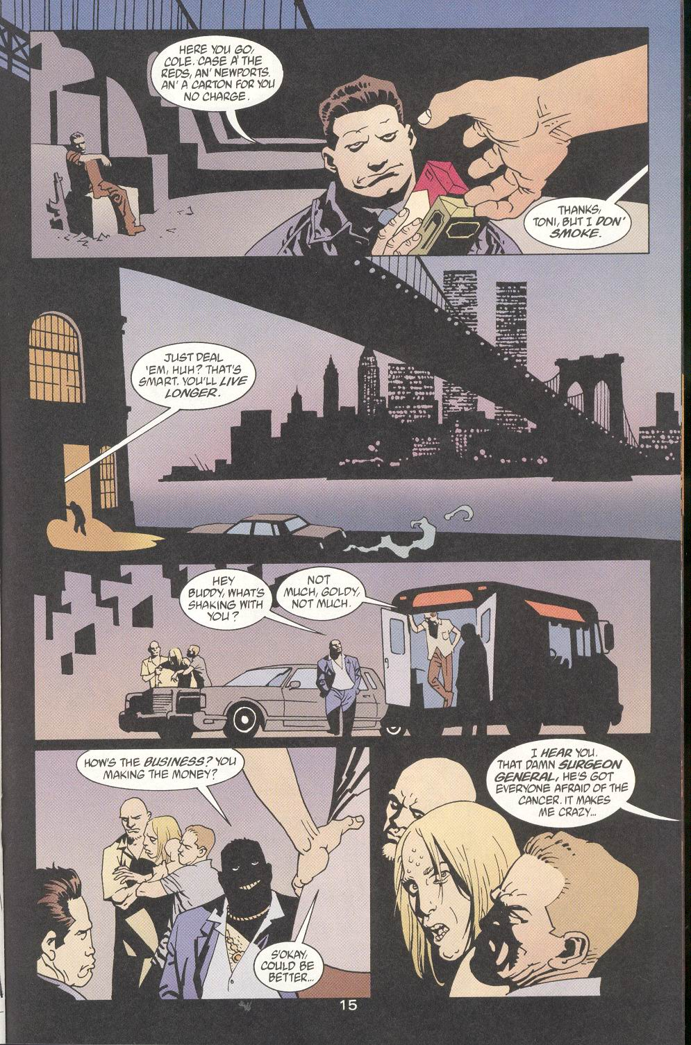 Read online 100 Bullets comic -  Issue #9 - 17