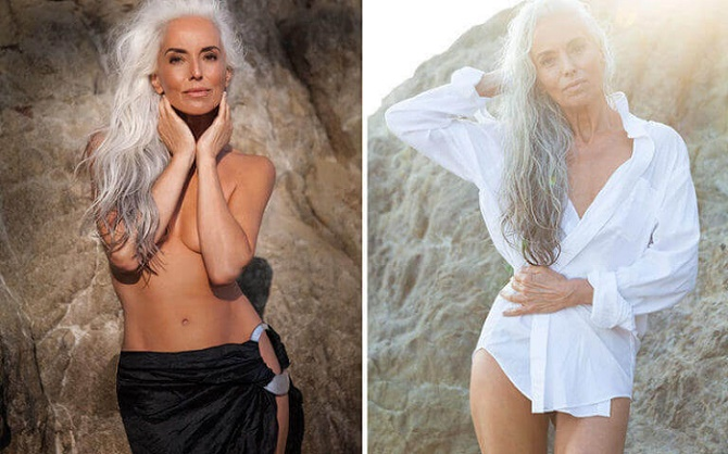 Stunning 61-Year-Old Model Shares Photos With Her Secrets To Graceful Aging