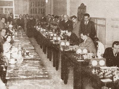 Match telefónico Ajedrez Comtal Club - Real Madrid, 25 de mayo de 1935