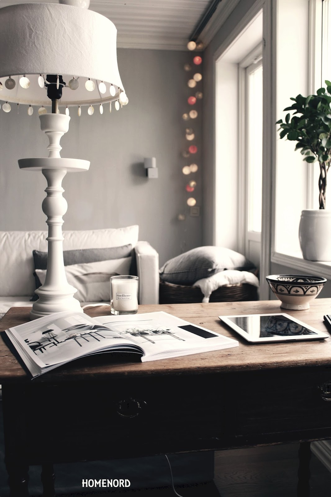 home nord tine k lampfot l tine k lampunjalka l. Black Bedroom Furniture Sets. Home Design Ideas