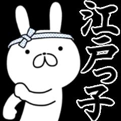 Edo rabbit !!