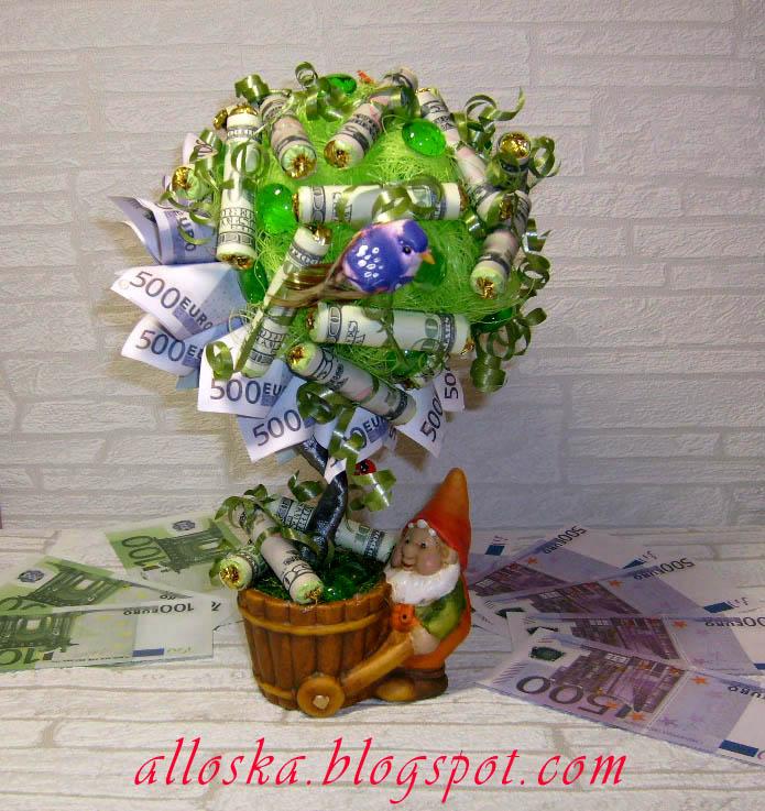 Конфетно денежное дерево своими руками картинки является одной