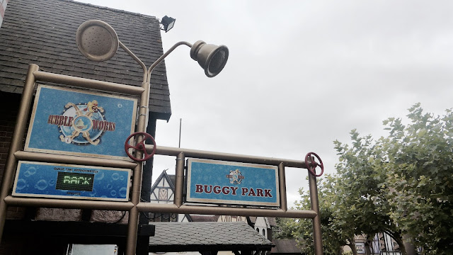 Photo of Bubbleworks Queueline Entrance Sign