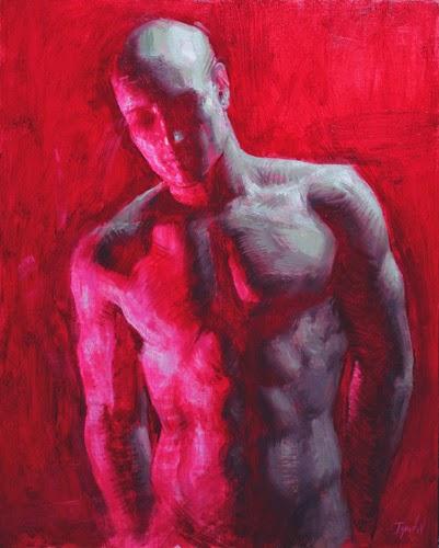 Torso em Vermelho - Ignat Ignatov e suas mais belas pinturas  ~ Pintora russa