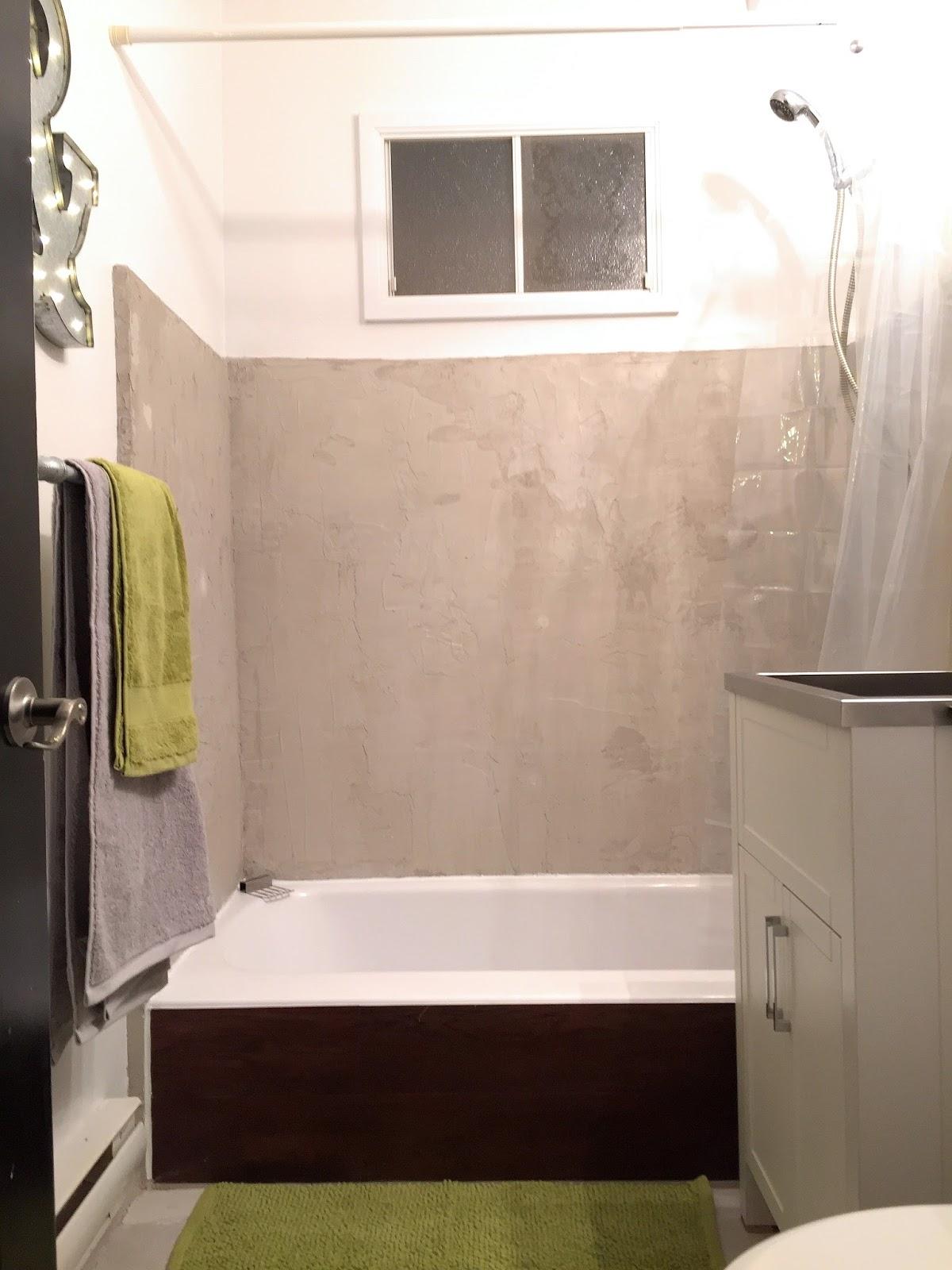 unik home staging r novation d 39 une salle de bain de style industriel pour moins de 1000. Black Bedroom Furniture Sets. Home Design Ideas