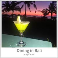 Sydney Fashion Hunter - Dining in Bali