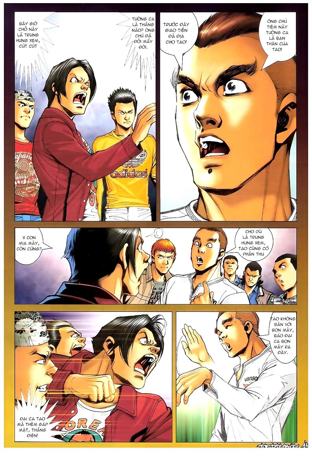 Người Trong Giang Hồ - Chapter 1378: Oan gia gặp nhau - Pic 13