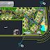 مخطط تهيئة لمجموعة عمارات سكنية اوتوكاد dwg