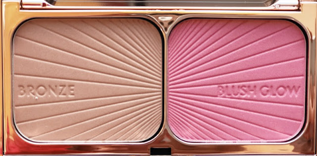 Charlotte Tilbury Filmstar Bronze and Blush Glow Palette Review Swatch Swatches