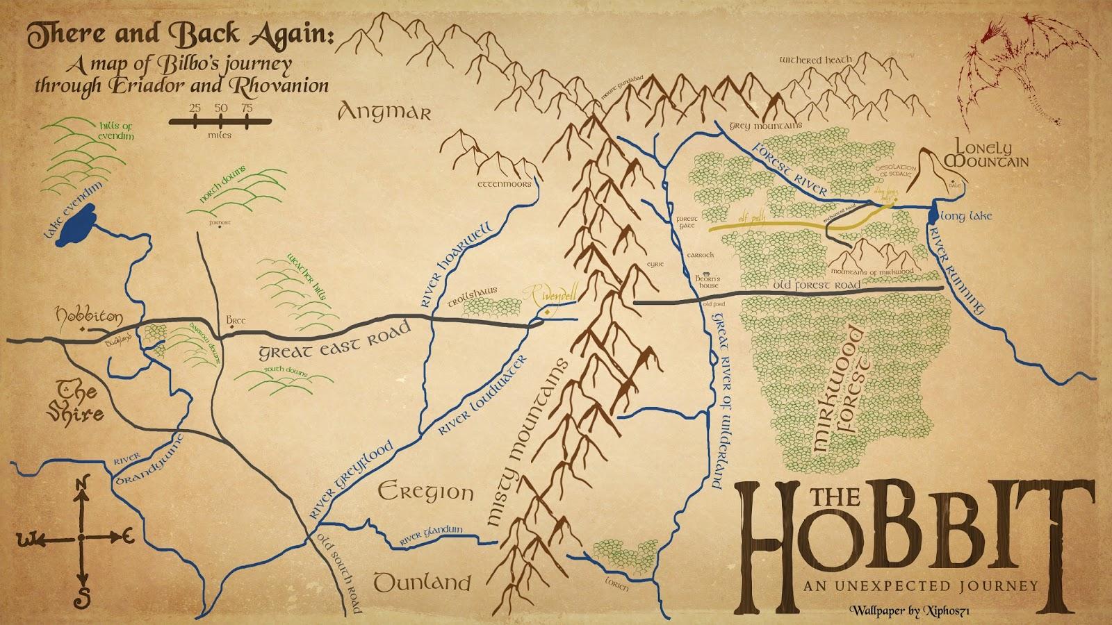 Free Wallpaper Dekstop The Hobbit An Unexpected Journey