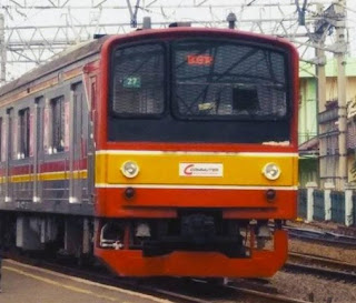 KRL Commuter Depok Jakarta