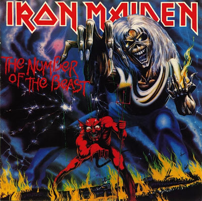 Iron Maiden Number of The Beast 1982