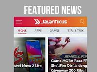 Cara Membuat Featured News Ala Jalan Tikus di Blogger