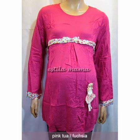Contoh Model Baju Muslim Kerja Untuk Ibu Hamil Terpopuler