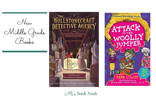 mysterious and funny new middle grade reads 8-12 years old
