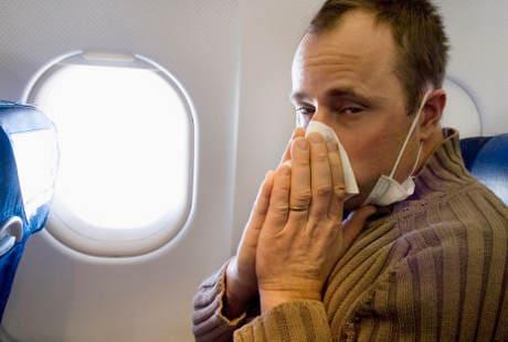 Agar Tidak Terserang Flu Setelah Naik Pesawat