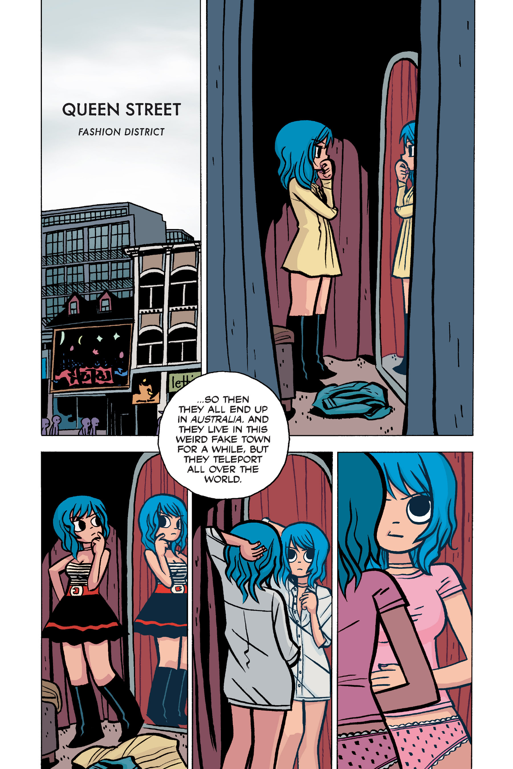 Read online Scott Pilgrim comic -  Issue #5 - 40
