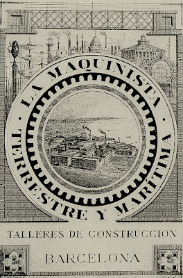 cartel maquinista terrestre maritima fabrica barcelonneta