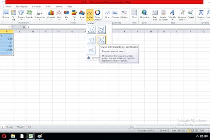 Cara Membuat Grafik Regresi Linear Dan Persamaannya Di Microsoft Excel