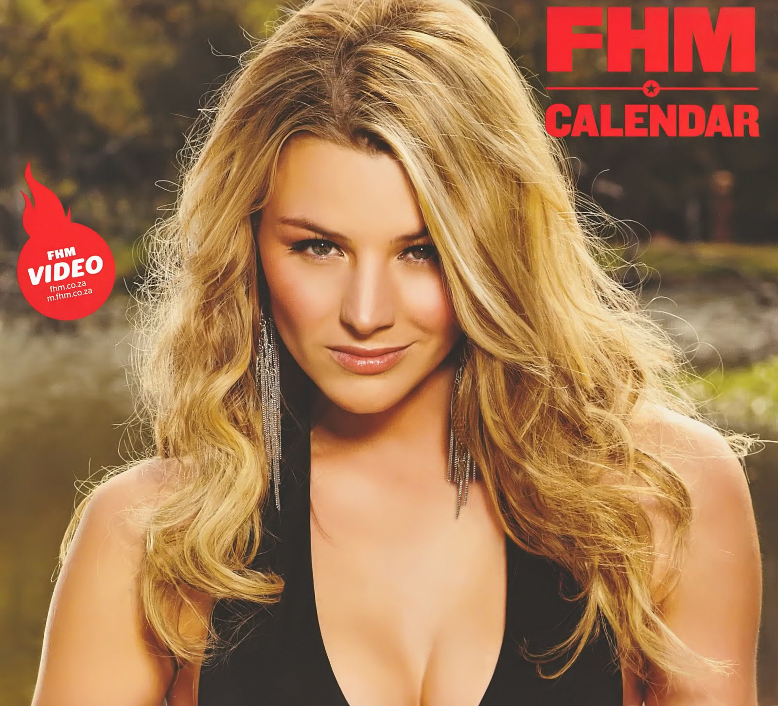 Video FHM Official Calendar nudes (34 foto and video), Tits, Cleavage, Selfie, panties 2006