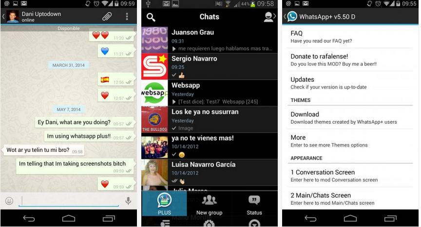 Download Whatsapp plus For Blackberry 9800