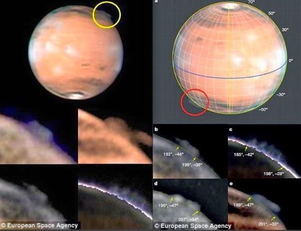 """hongo marte4 - Existe """"evidencia"""" de que una civilización pudo haber sido borrada de la superficie marciana?"""