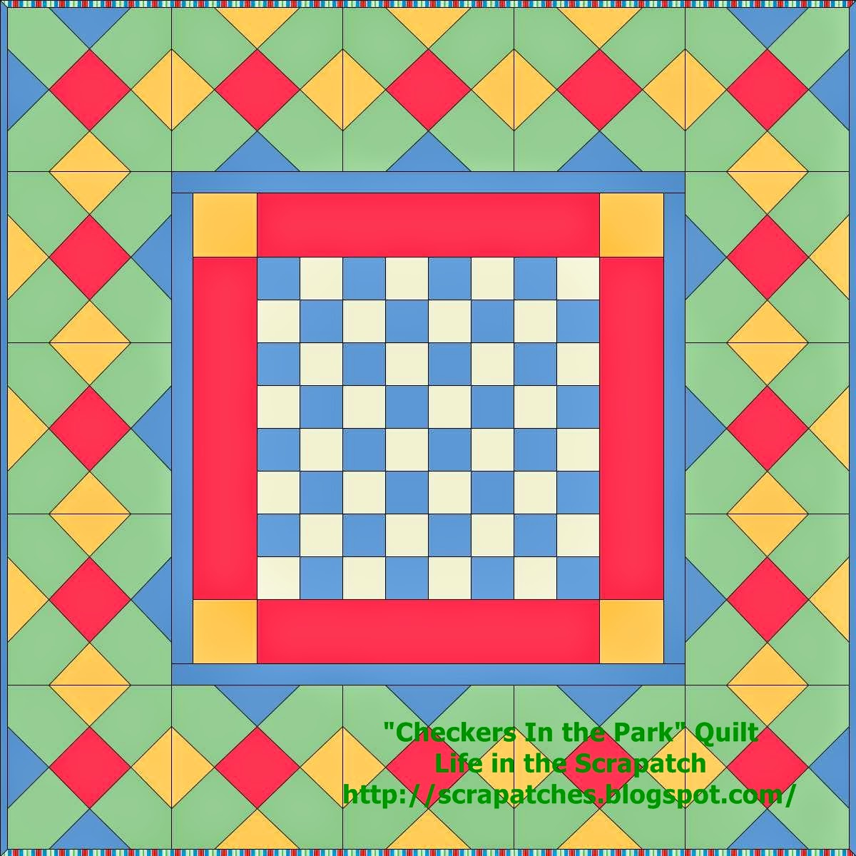 playing checkers quilt pattern - HD1200×1200