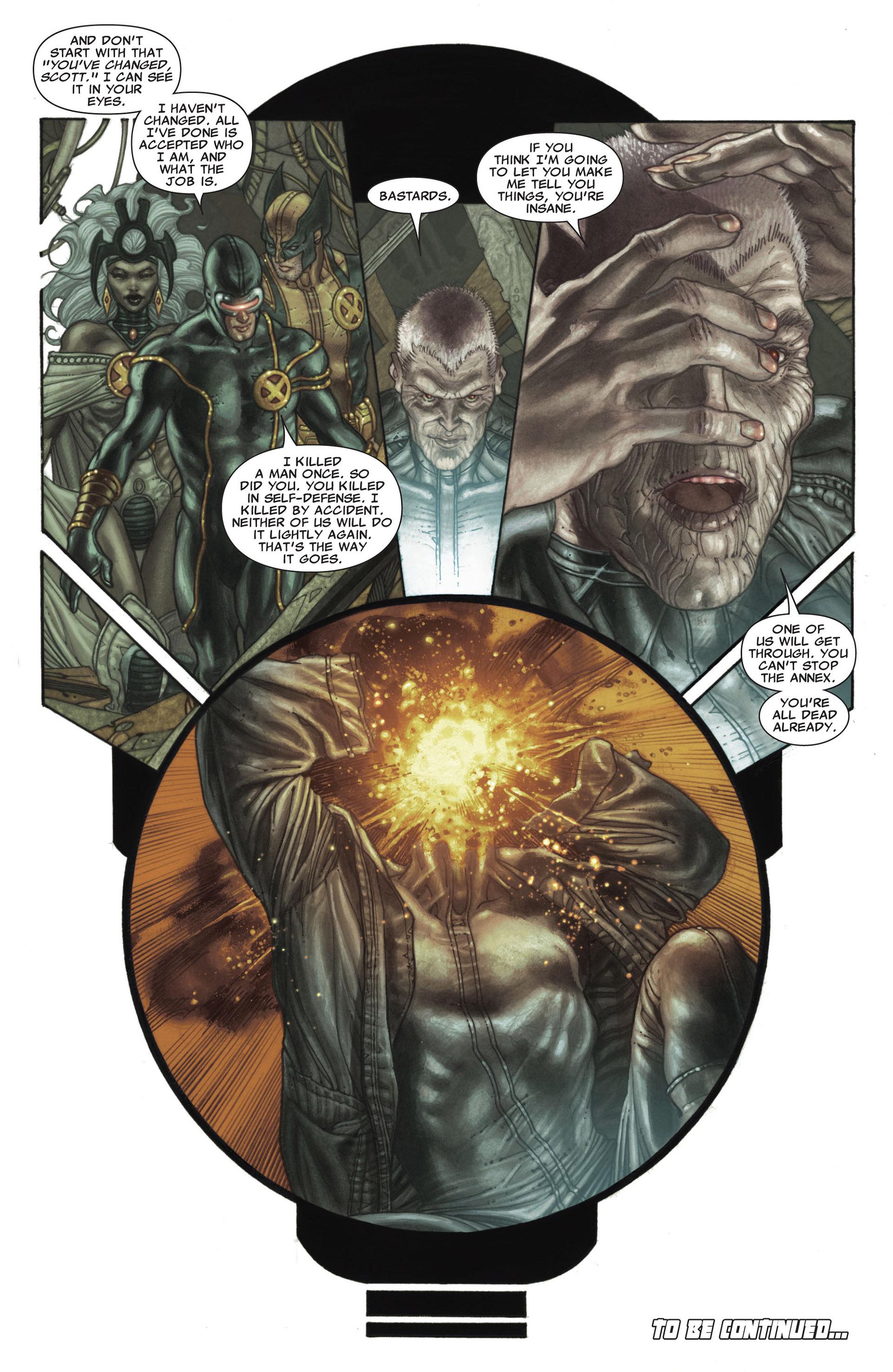 Read online Astonishing X-Men (2004) comic -  Issue #26 - 22