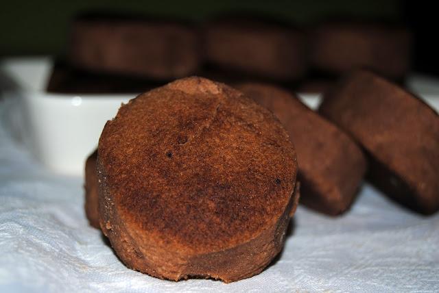 Mantecados caseros de Chocolate de Estepa