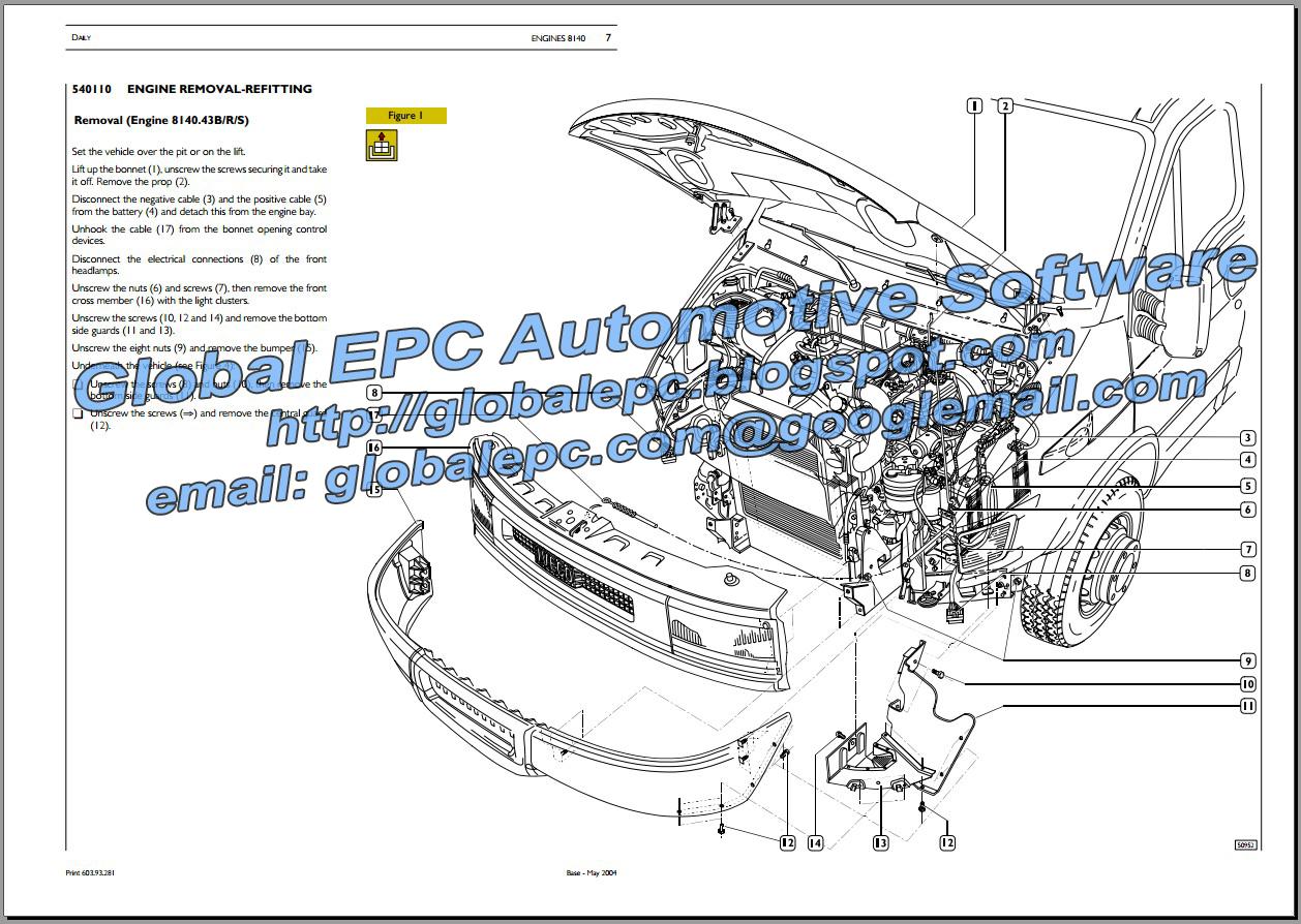 AUTOMOTIVE REPAIR MANUALS: IVECO DAILY 20002006 REPAIR
