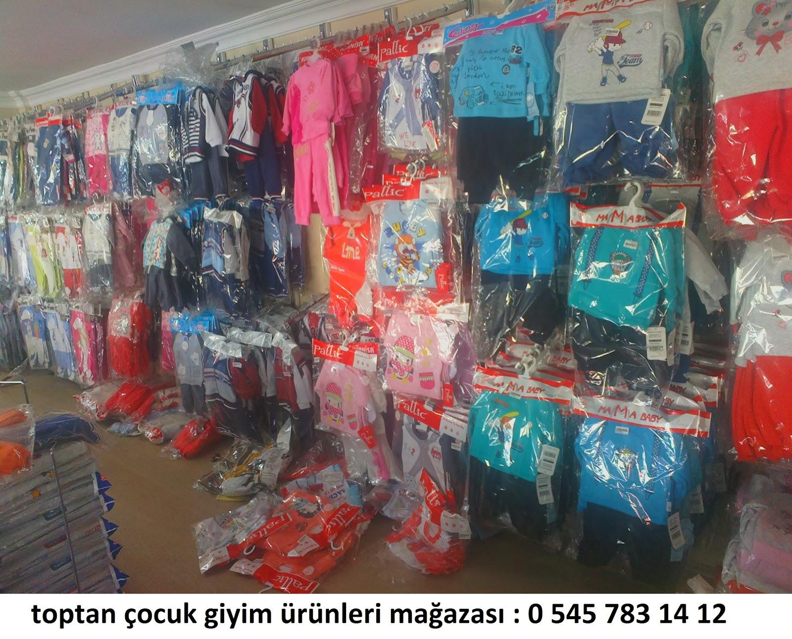 çocuk giyim ürünleri mağaza görüntüleri