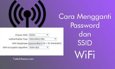 Cara Mengganti Password dan Nama SSID WiFi Indihome Cara Mengganti Password dan Nama SSID WiFi Indihome, Pada Modem ZTE