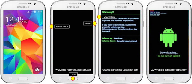 Download mode Samsung Galaxy Grand Neo Plus I9060i