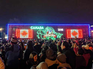 The 2018 Holiday Train.