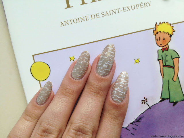 paznokcie Mały książę