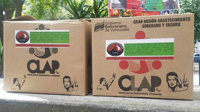 """""""El ELN distribuye cajas CLAP en las fronteras con autorización de Maduro"""""""