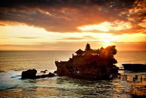 Sunset Terrace di Tanah Lot