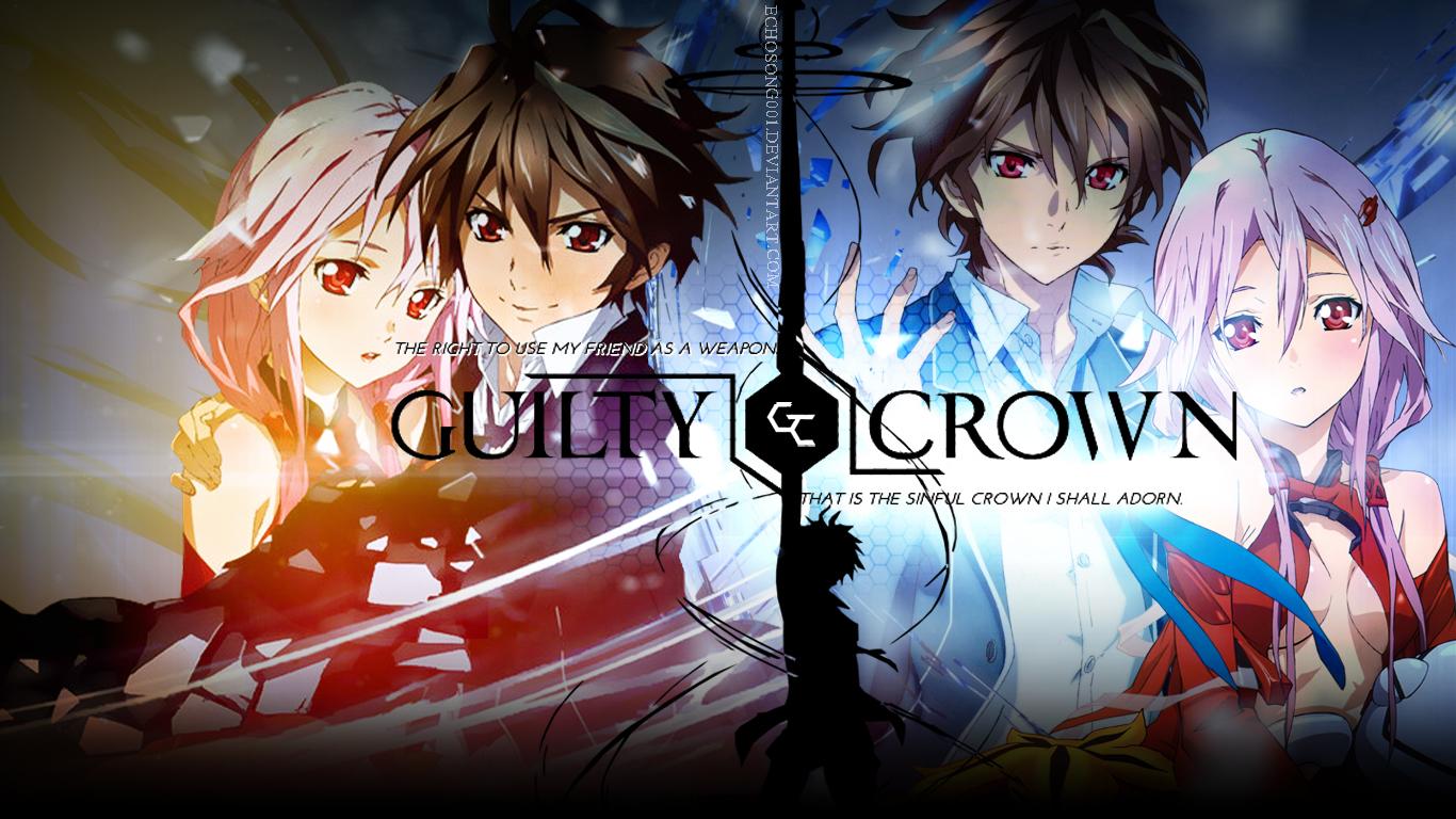 เว็บดูการ์ตูนHD: Guilty Crown ปฏิวัติหัตถ์ราชัน ตอนที่ 1 ...